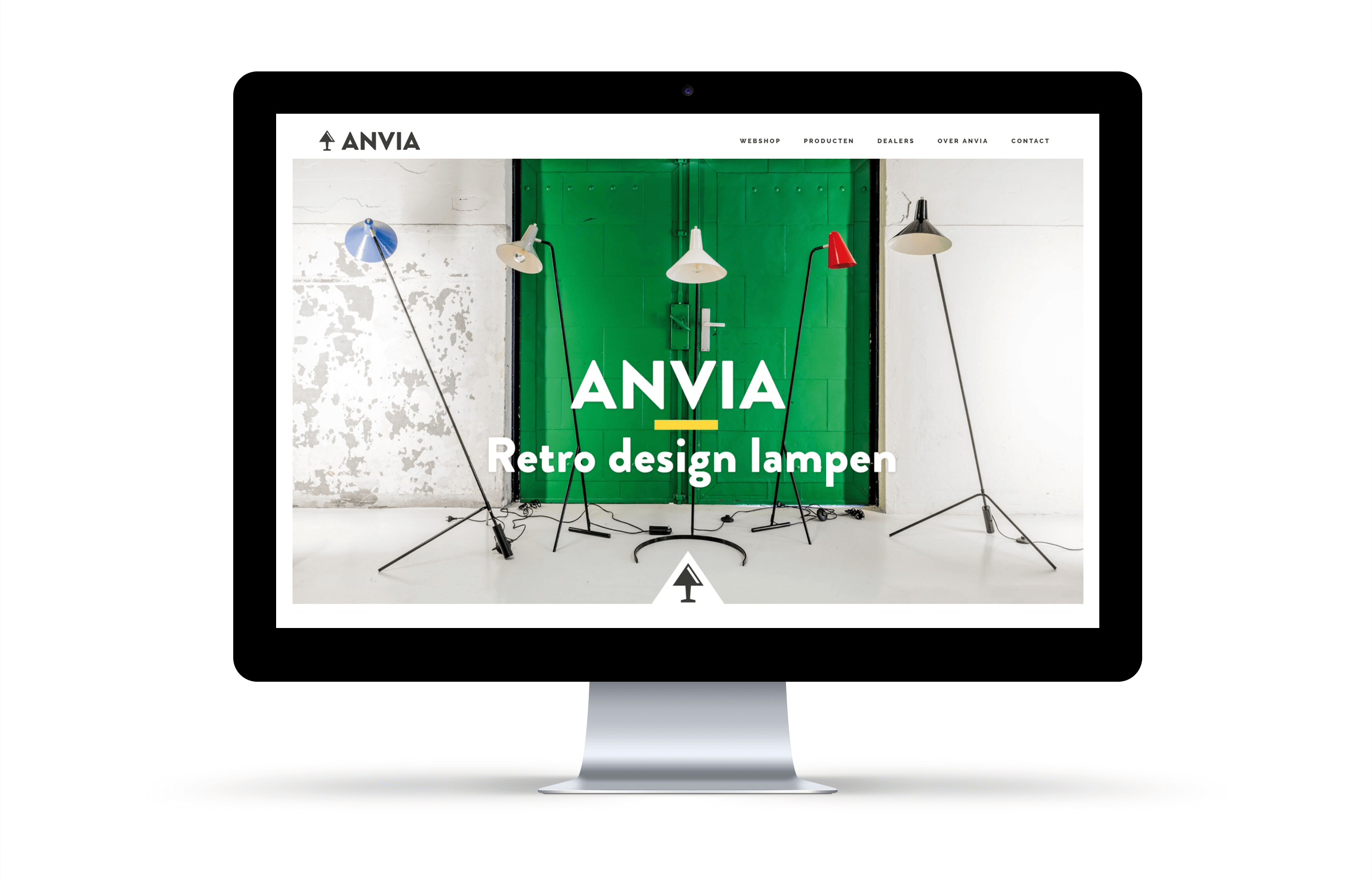 Anvia-website