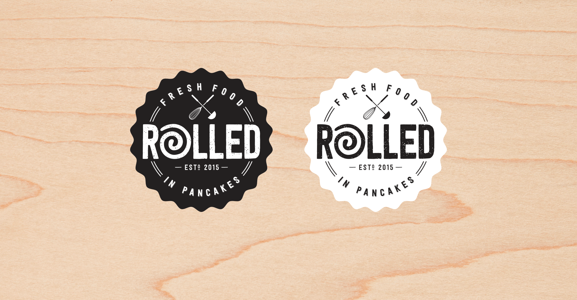 Rolled-logo
