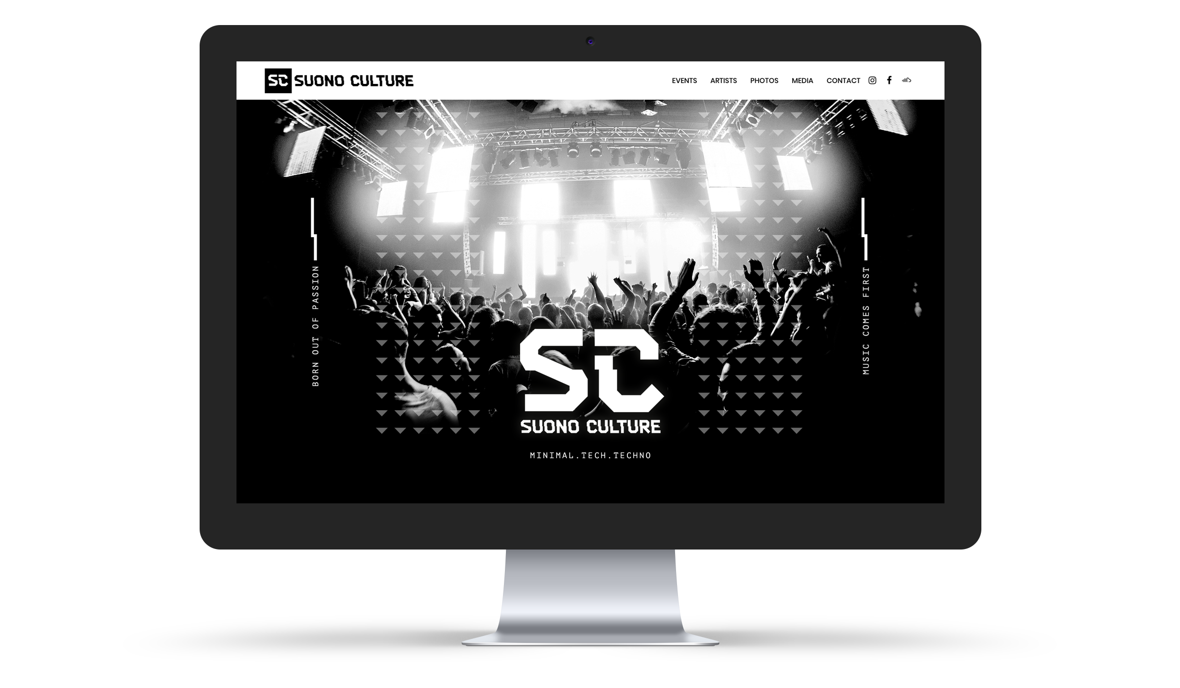 Suono Culture - Website