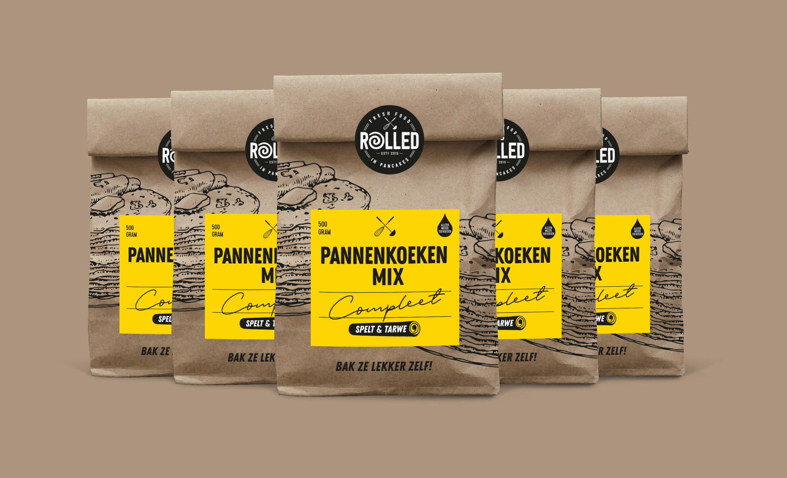 Rolled Pannenkoeken mix