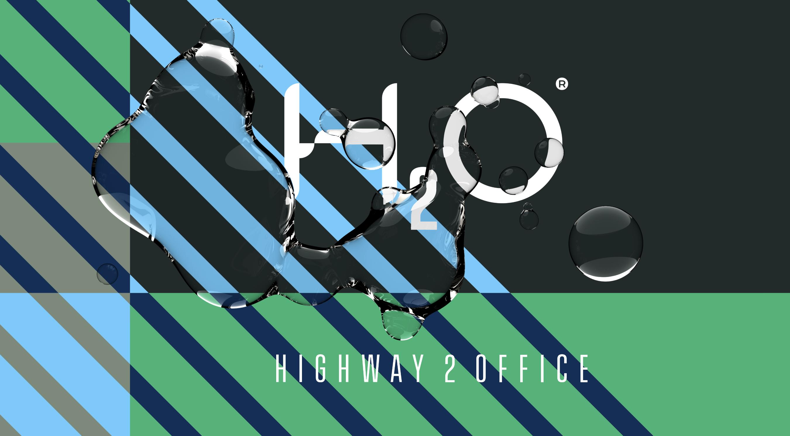 H2O logo liquid